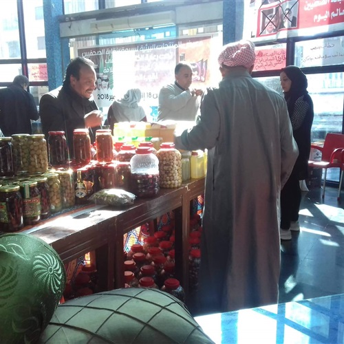 صدى العرب:  الصحفيين  تفتتح معرضاً للمنتجات البيئية لشركة سيوة