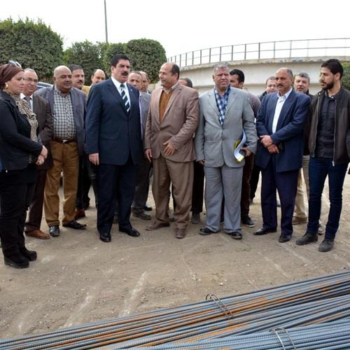 صدى العرب: محافظ القليوبية يتفقد عدد من مشروعات المياه والصرف الصحي
