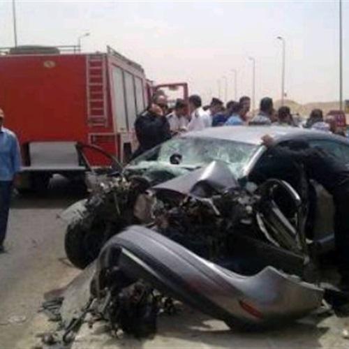 صدى العرب: إصابة 3 أشخاص فى حادث تصادم سيارتين ببنها