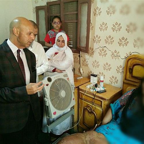 صدى العرب:  وكيل وزارة الصحة بالشرقية يتابع بنفسه الخدمة الطبية المقدمة للحالة الإنسانية بالصوفية
