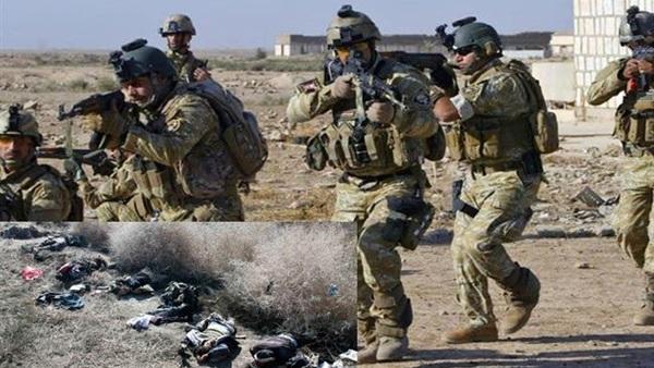 عسكري عراقي يعلن مقتل أربعة انتحاريين غربي محافظة الأنبار