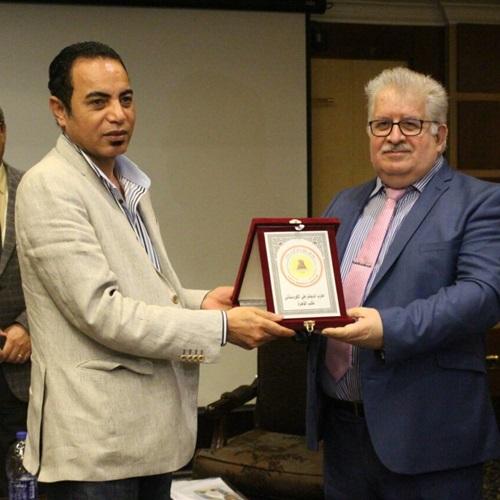 صدى العرب: تكريم الصحفيين المصريين فى الاحتفال المائة والعشرين بعيد الصحافة الكردية
